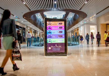 Рисунок - Indoor Реклама В Торговых Центрах