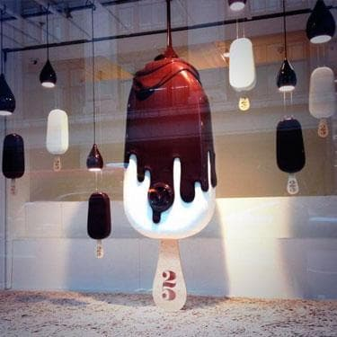 Необычные витрины магазинов