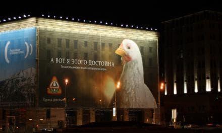 Иллюстрация - Рекламные Щиты На Магазинах